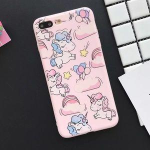 Accessories - NEW iPhone 7/8 Pink Unicorn Case